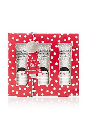Up To Snow Good Hand Cream Trio, , catlanding