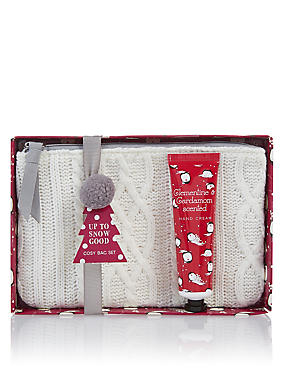 Up To Snow Good Cosy Bag Set, , catlanding