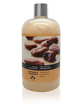 Cocoa Butter Cream Bath 500ml, , catlanding