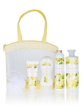 Honeysuckle Toiletry Bag, , catlanding
