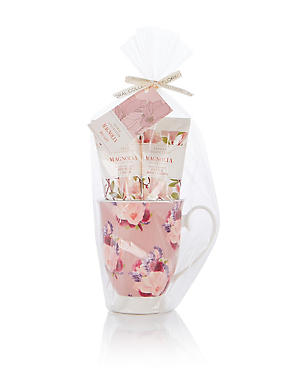 Magnolia Mug Gift Set, , catlanding
