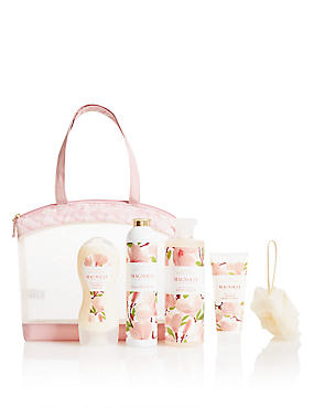 Magnolia Toiletry Bag, , catlanding