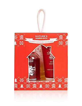 Sugared Cranberry Gift Set, , catlanding