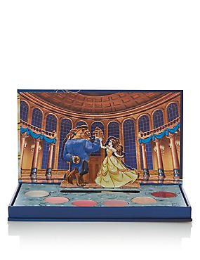 Beauty & The Beast Lip Palette, , catlanding