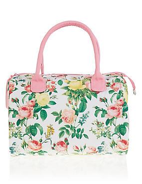 Bloom Floral Weekender Cosmetic Bag, , catlanding