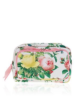 Bloom Floral Make Up Bag , , catlanding