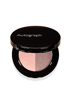 Colour Luxe Duo Eyeshadow, PINK SHELL, catlanding