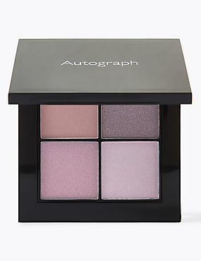Lasting Colour Luxe Quad Eyeshadow, PURPLE MIX, catlanding