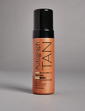 Self Tan Tinted Mousse - Light to Medium 150ml, , catlanding