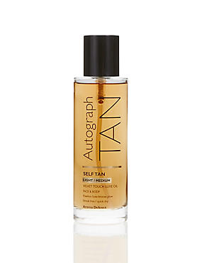 Self Tan Luxe Oil - Light to Medium 100ml, , catlanding