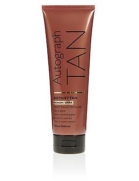 Instant Tan Tinted Gel - Medium to Dark 125ml, , catlanding