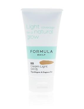 Sensitive BB Cream Light SPF15 50ml, , catlanding