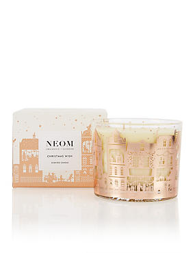 Christmas Wish 3 Wick Scented Candle 420g, , catlanding