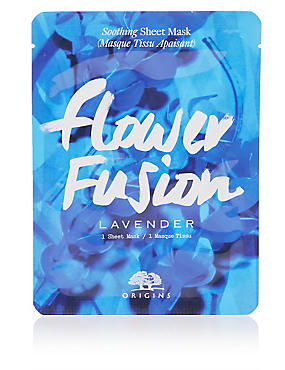 Flower Fusion™ Hydrating Sheet Mask - Lavender  , , catlanding