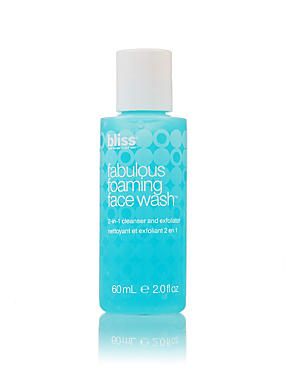 Fabulous Foaming Face Wash 60ml, , catlanding