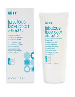 Fabulous Face Lotion SPF 15 50ml, , catlanding