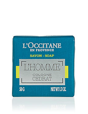 Cedrat L'Homme Soap 50g, , catlanding