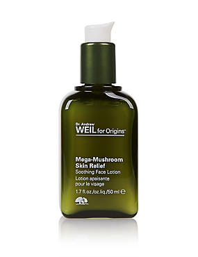 Dr. Andrew Weil Mega-Mushroom Skin Relief Soothing Face Lotion 50ml, , catlanding