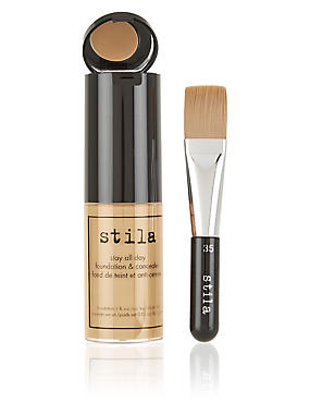 Stay All Day™ Foundation & Concealer 30ml, LIGHT HONEY, catlanding