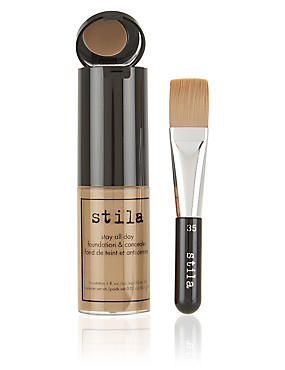 Stay All Day™ Foundation & Concealer 30ml, LIGHT TAN, catlanding