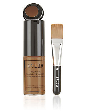 Stay All Day™ Foundation & Concealer 30ml, TAN, catlanding
