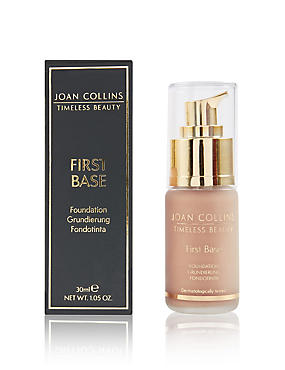 First Base Foundation 30ml, DARK, catlanding