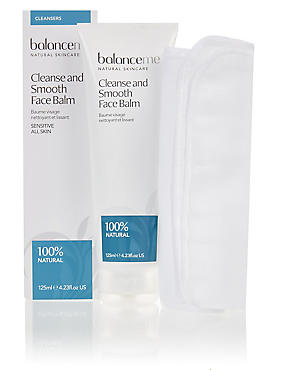 Cleanse and Smooth Face Balm 125ml, , catlanding