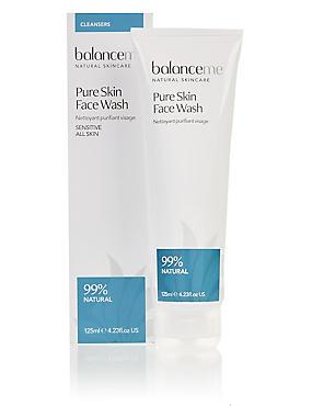 Pure Skin Face Wash 125ml, , catlanding