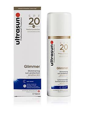 Glimmer SPF 20 150ml, , catlanding