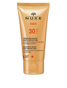 High Protection Sun Cream for Face SPF30 50ml, , catlanding