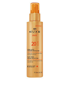 Sun Protection Spray for Face and Body SPF 20 150ml, , catlanding