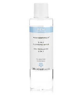 Rosa Centifolia™ 3-In-1 Cleansing Water 200ml, , catlanding
