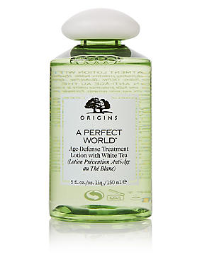 A Perfect World™ Age-Defense Treatment Lotion with White Tea 150ml, , catlanding