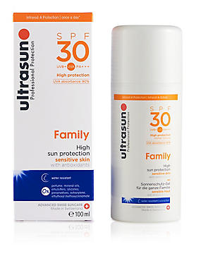 Super Sensitive Sun Lotion SPF30 100ml, , catlanding