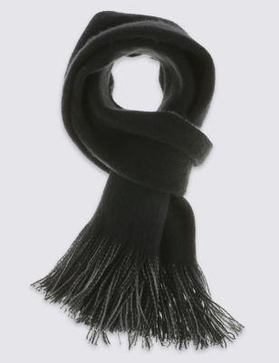 Классический шарф из ворсованного волокна