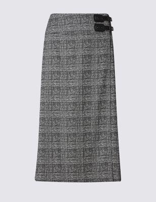 Юбка А-силуэта в стиле килт M&S Collection T595120A