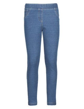 Cotton Rich Denim Jeggings (5-14 Years) Clothing