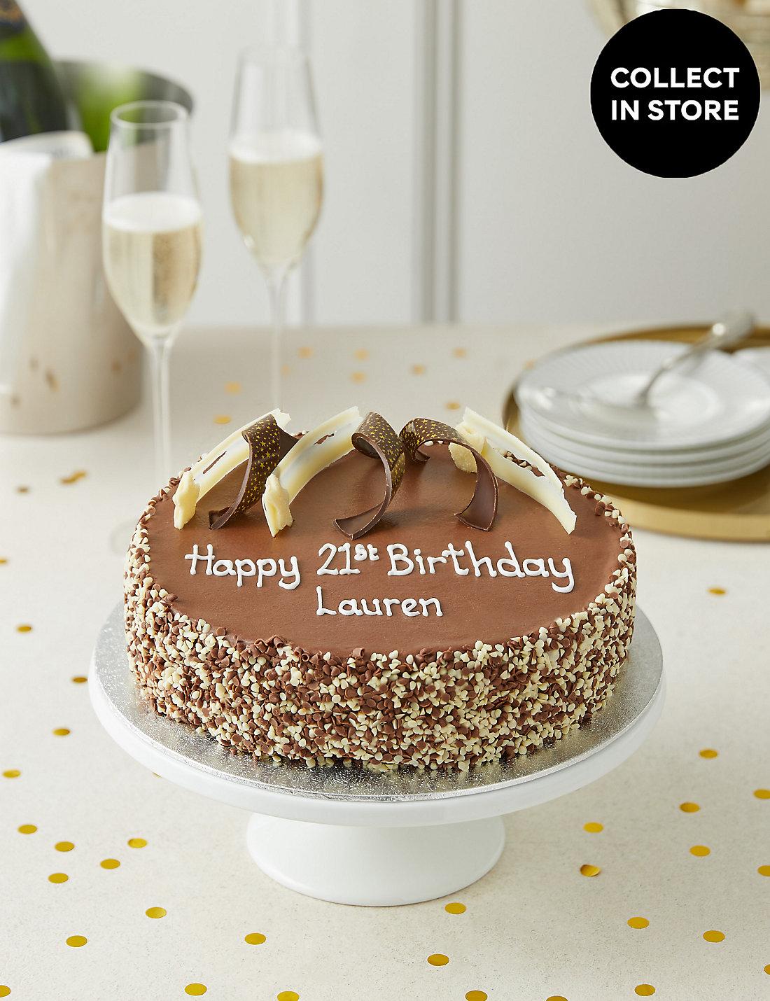 Extremely Chocolatey Party Cake