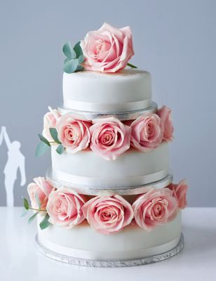 Traditional Wedding Cake Small Tier MS