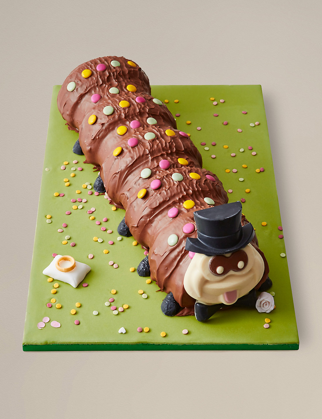 Image result for colin the caterpillar cake