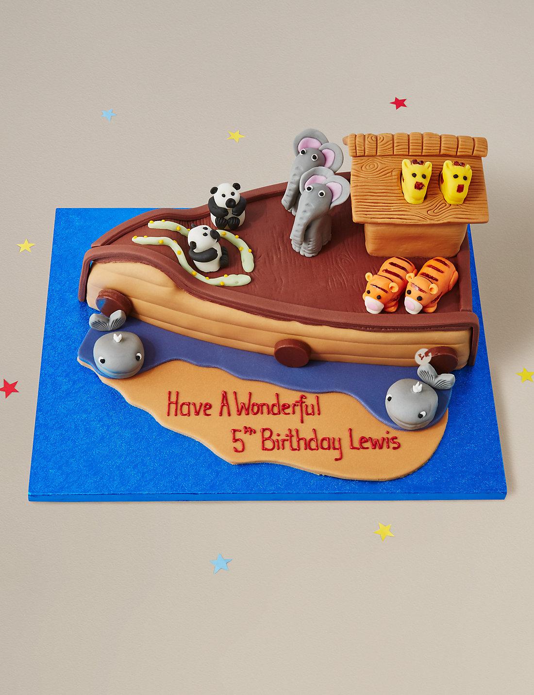 noah u0027s ark cake m u0026s