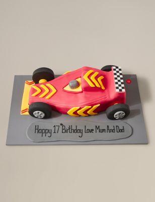 Racing Car Cake MS