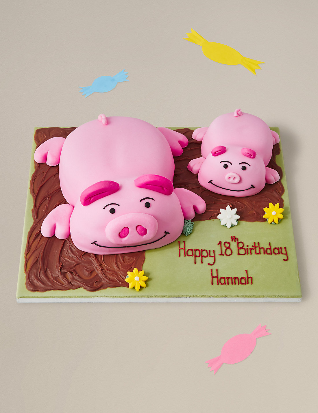 Percy pig cakes birthday cards gifts ms percy pig piglettrade cake kristyandbryce Gallery
