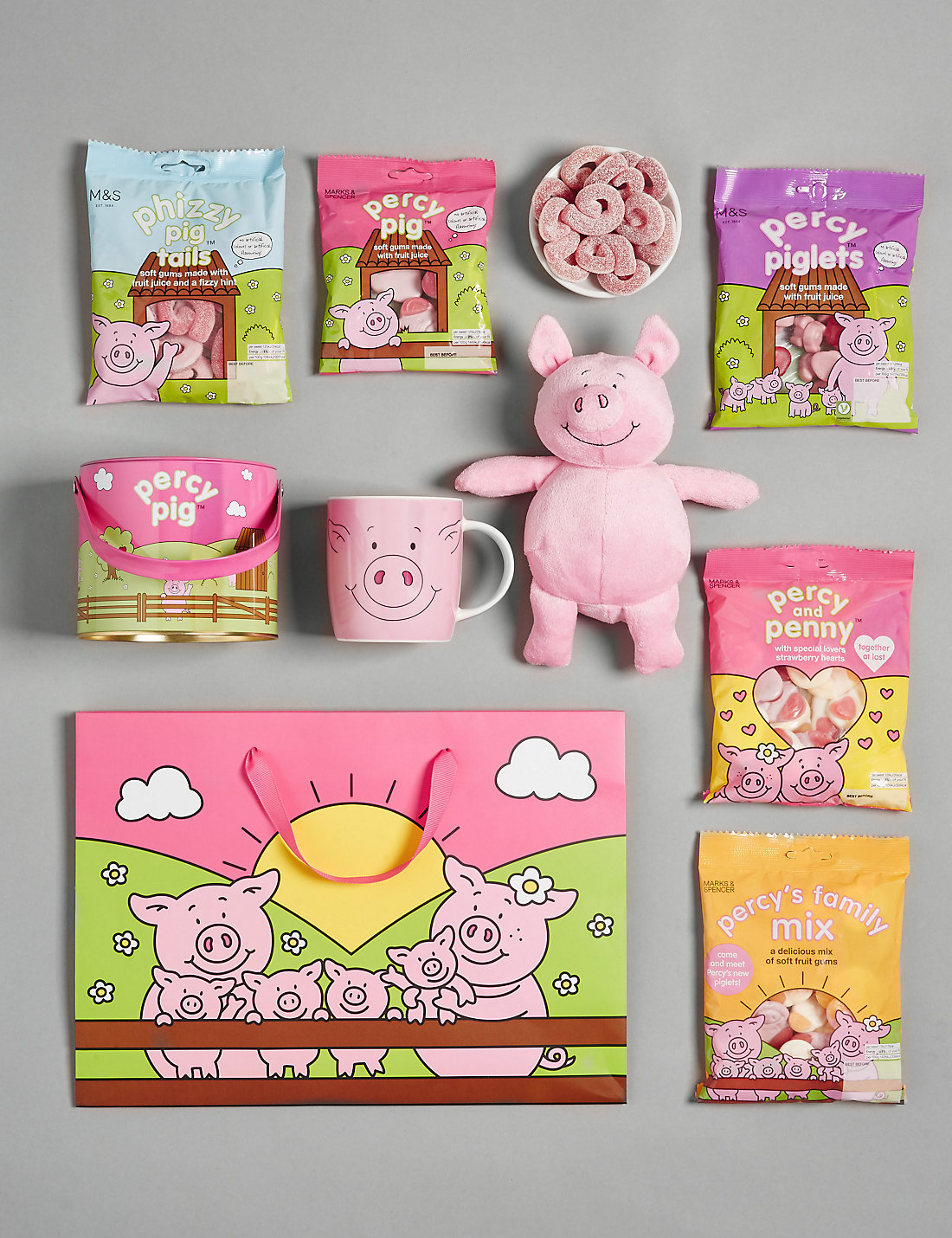 Percy pig gift bag ms percy pig gift bag negle Images