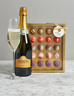Christmas hampers luxury xmas food gift baskets ms the collection prosecco chocolates gift bag solutioingenieria Image collections