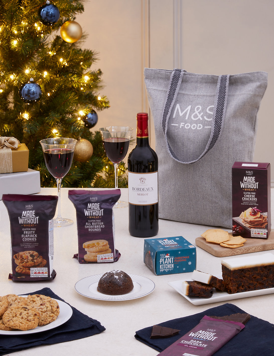 Gluten free christmas gift bag ms gluten free christmas gift bag negle