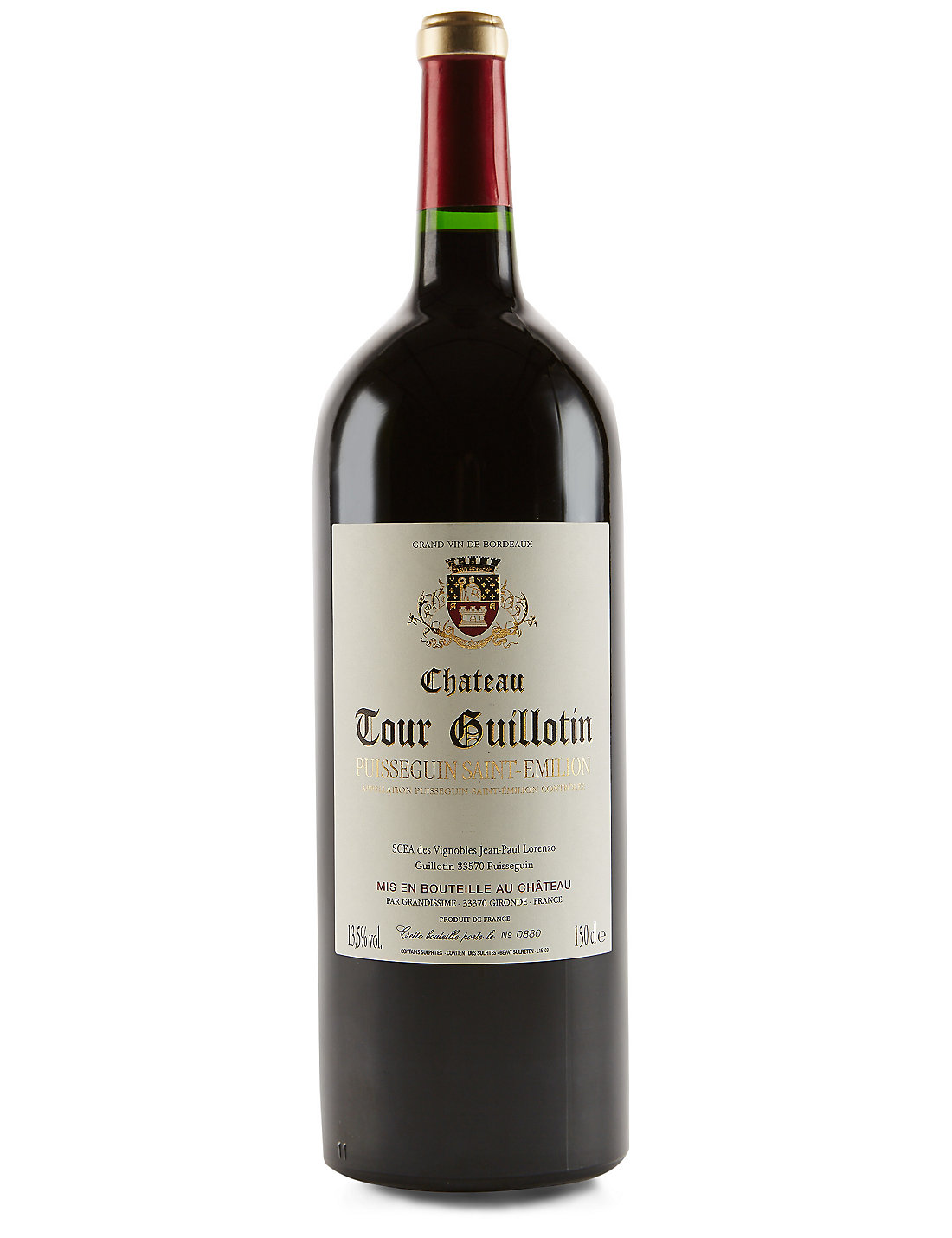 Chateau Tour Guillotin St Emilion Magnum - Single Bottle