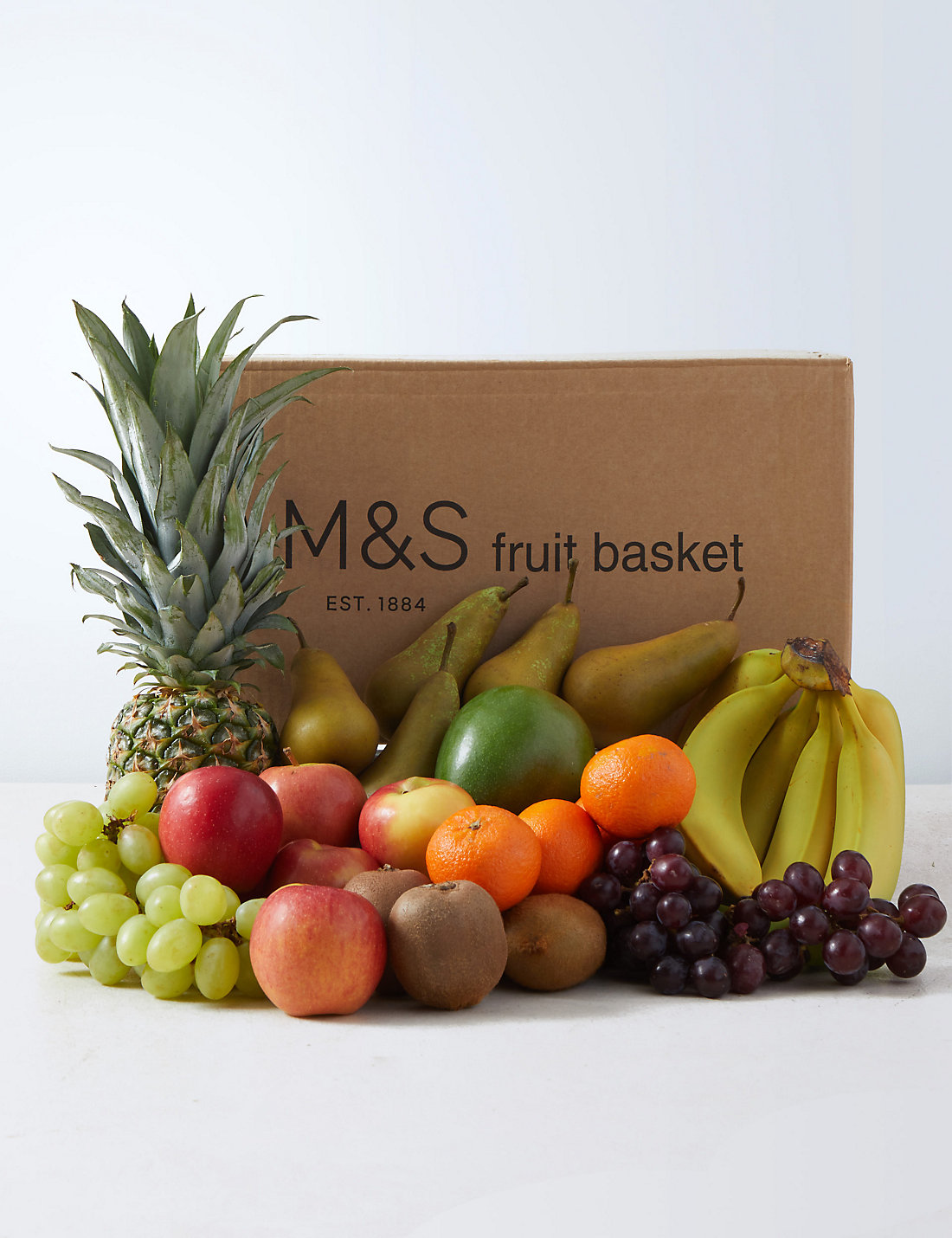 Fruit baskets luxury traditional fruit gift hampers ms luxury fruit basket negle Choice Image