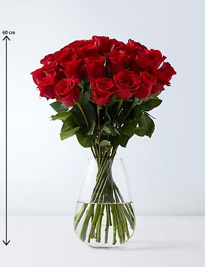 valentines day flowers & luxury rose gift bags for him & her | m&s, Ideas