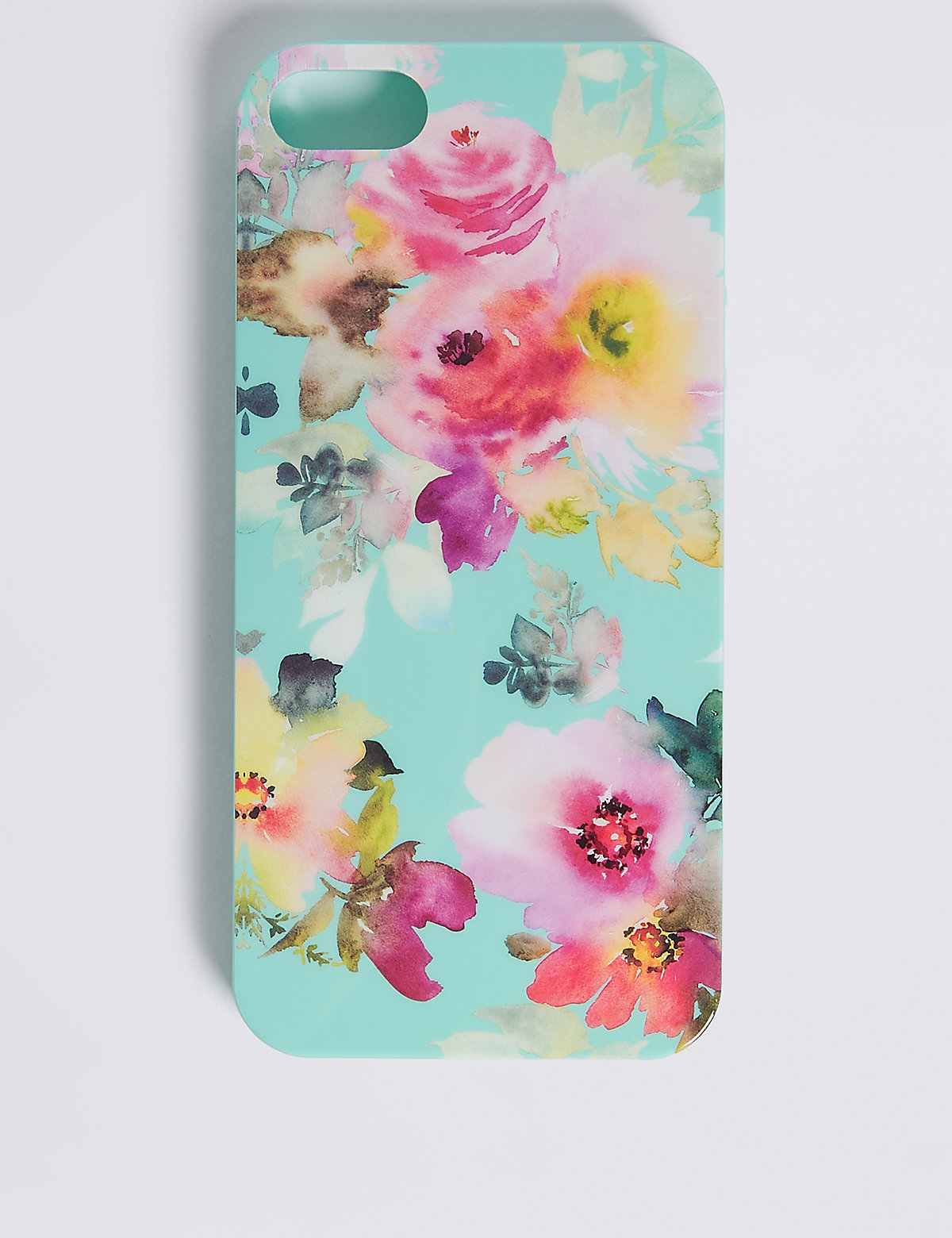 M&S Collection iPhone 5/5s Floral Print Phone Case